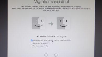 Bild von Anleitung: Mit Time Machine vom alten auf einen neuen Mac umziehen
