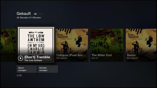 Dank AutoRip könnt Ihr bei Amazon gekaufte CDs direkt auf dem Fire TV abspileen
