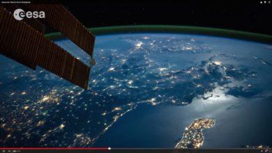 Bild von Die Erde aus dem All, Zeitraffer von Alexander Gerst