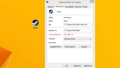 Bild von Windows-Programme per Tastenkombination starten