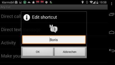 Bild von Shortcuts für alles für den Android Homescreen erstellen