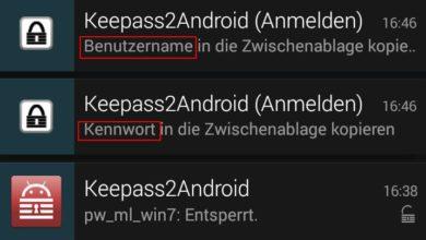 Bild von Anleitung: Passwortmanager unter Android nutzen und Sicherheitslücke umgehen