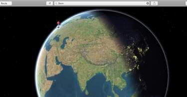 Apple-Maps-Sonnenstand