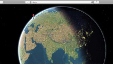 Bild von Aktuellen Sonnenstand bei Apple Maps herausfinden