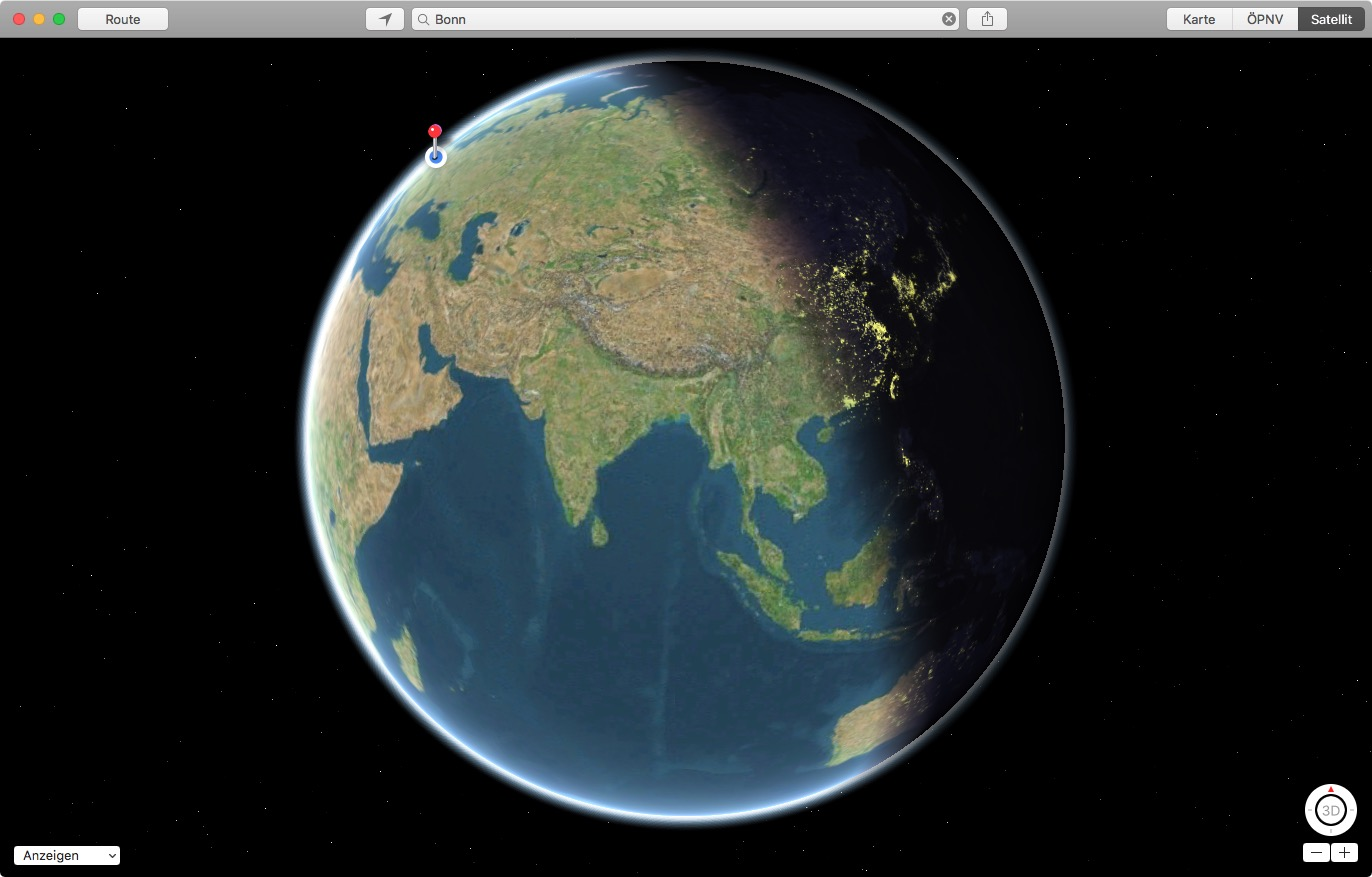 Apple-Maps-Sonnenstand