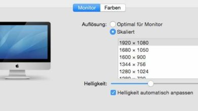 Bild von Zusätzliche Bildschirm-Auflösung in MacOS freischalten