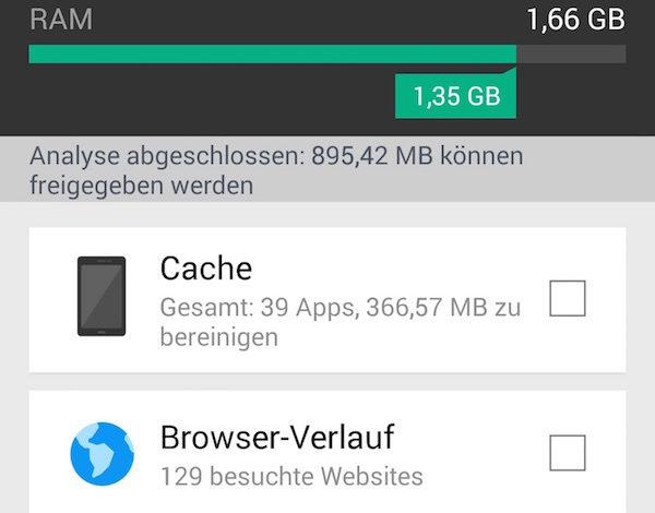 CCleaner für Android