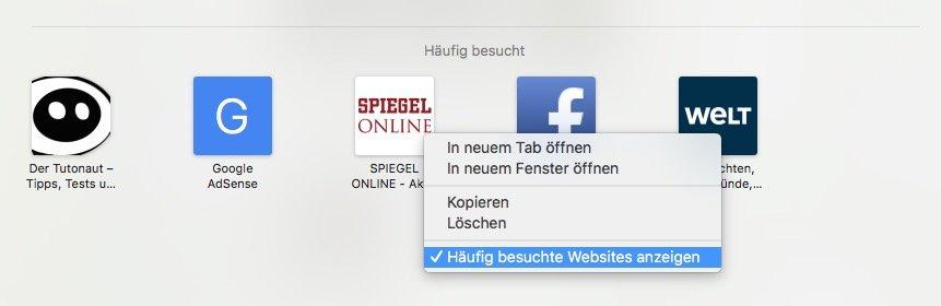 besuchte websites anzeigen albisrieden