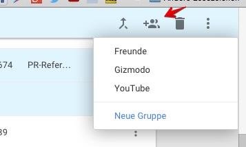 Google Kontakte Gruppe