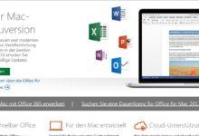 Bild von Microsoft Office für Mac OS X kostenlos ausprobieren