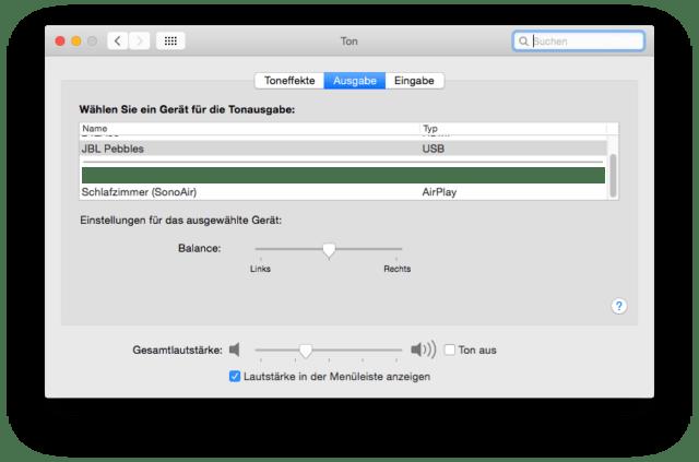 Sonos AirPlay Mac OS X