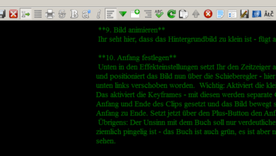 Bild von FocusWriter: Volle Konzentration auf den Text