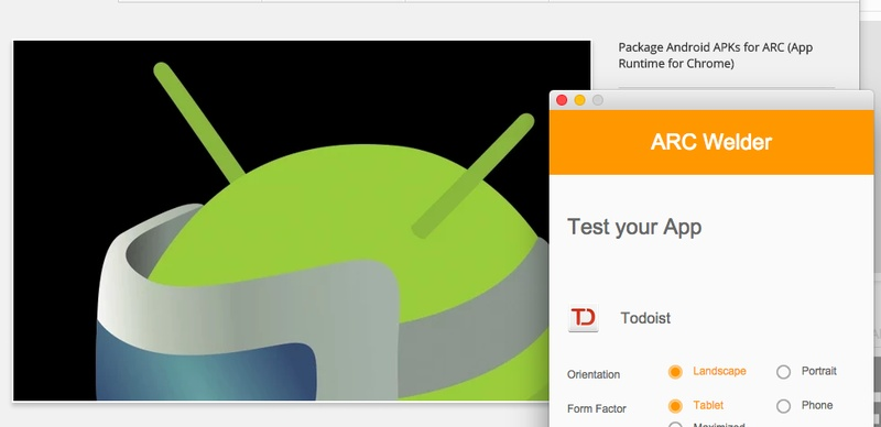 Android ARC Welder
