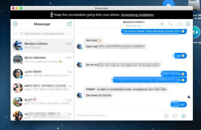 Messenger Desktop