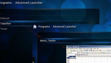 Bild von Anleitung: Office-Dokumente und Spiele aus Kodi heraus öffnen