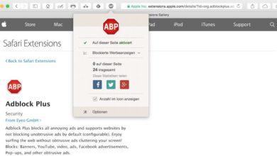 Bild von Anleitung: Eine Website in Adblock Plus whitelisten und unterstützen