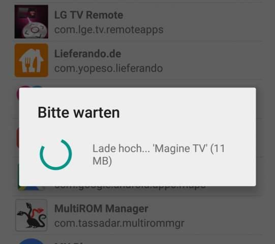 Apps auf Fire TV