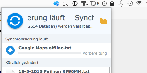 Synology Cloud Station Probleme