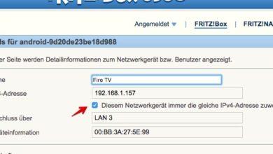 Bild von Anleitung: FritzBox-Geräten eine feste IP-Adresse zuweisen