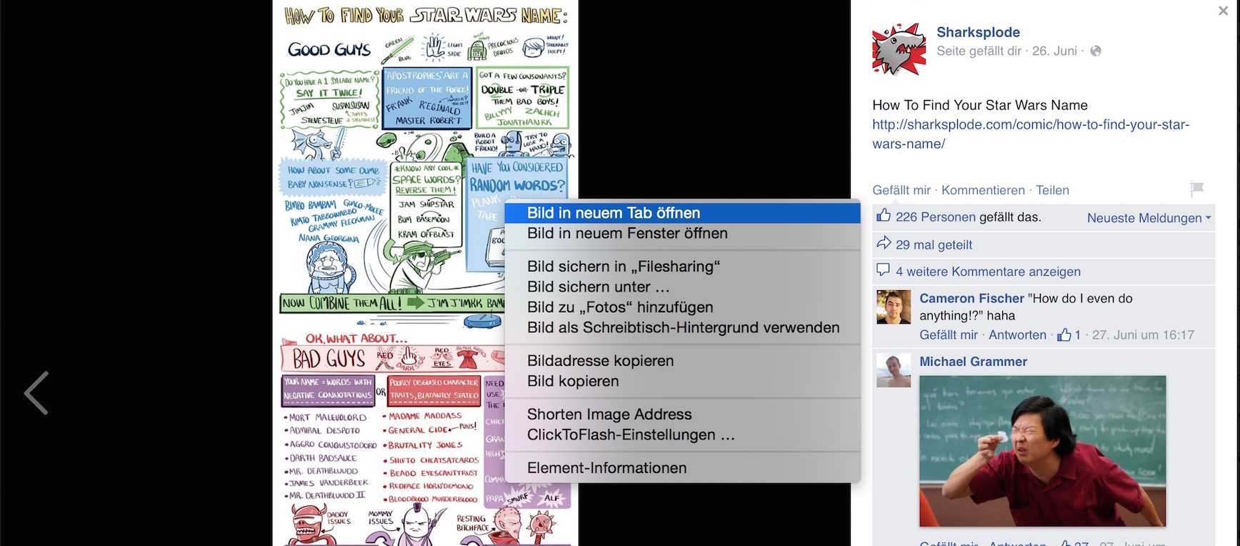 Facebookbild