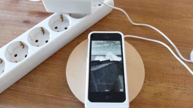 Bild von Test: Das iPhone kabellos laden mit der Qi-Ladestation von IKEA
