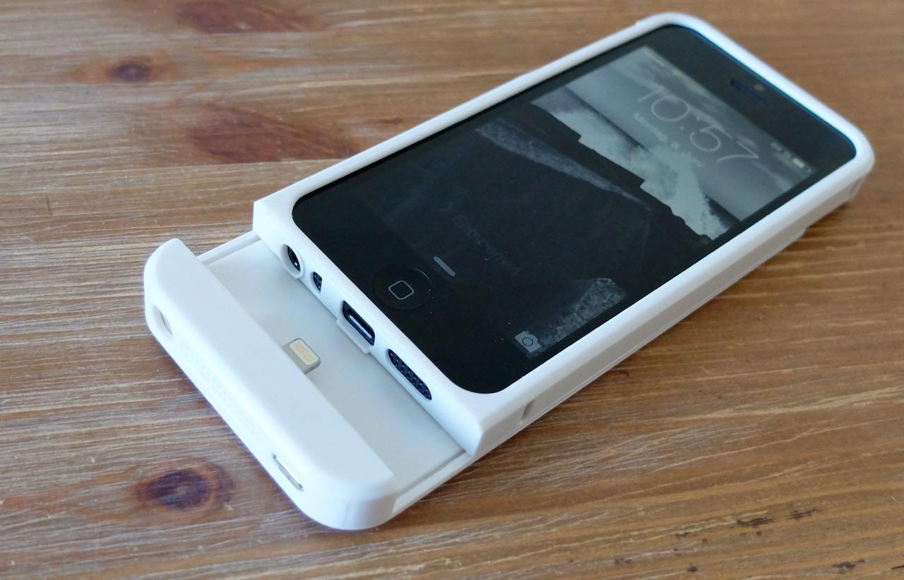 test das iphone kabellos laden mit der qi ladestation von. Black Bedroom Furniture Sets. Home Design Ideas