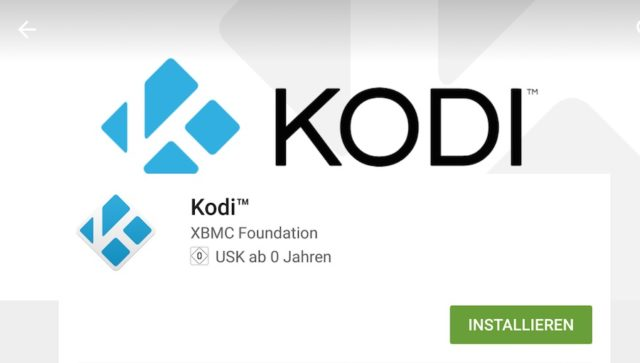 Kodi für Android