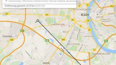Bild von Wie weit schallt AC/DC oder: Luftlinie und Entfernung bei Google Maps ausmessen