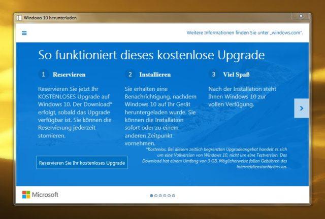 Wer Windows 7 oder 8.1 nutzt, darf kostenlos auf Windows 10 umsteigen