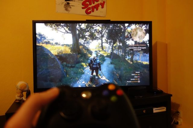 The Witcher 3 auf dem Fire TV - dank Moonlight kein Problem