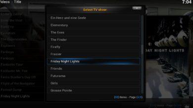 Bild von Kodi: (Pilot-) Filme mit Serien verlinken