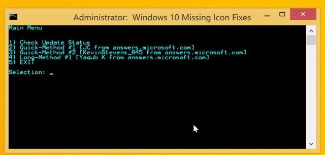 Geht die Schritte einzeln durch, bis das Windows 10-Icon auf Eurer Kiste erscheint