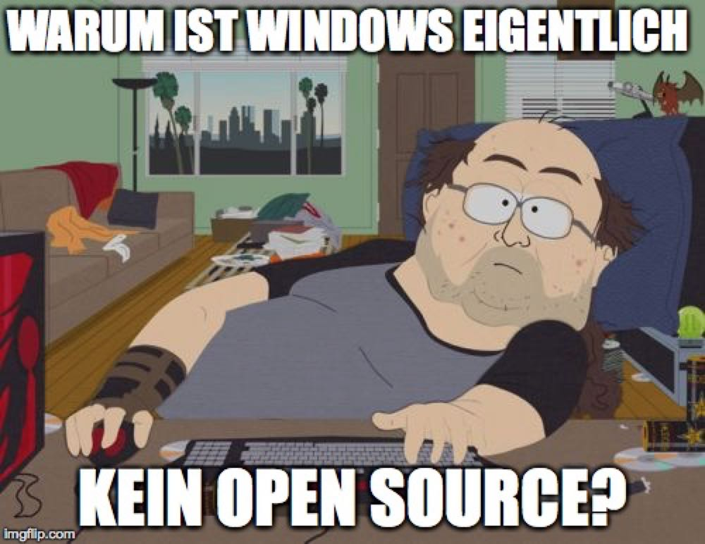 Windows Opensource