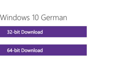 Bild von Windows 10 als ISO-Datei kostenlos herunterladen