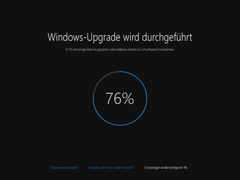 Windows 10-Upgrade