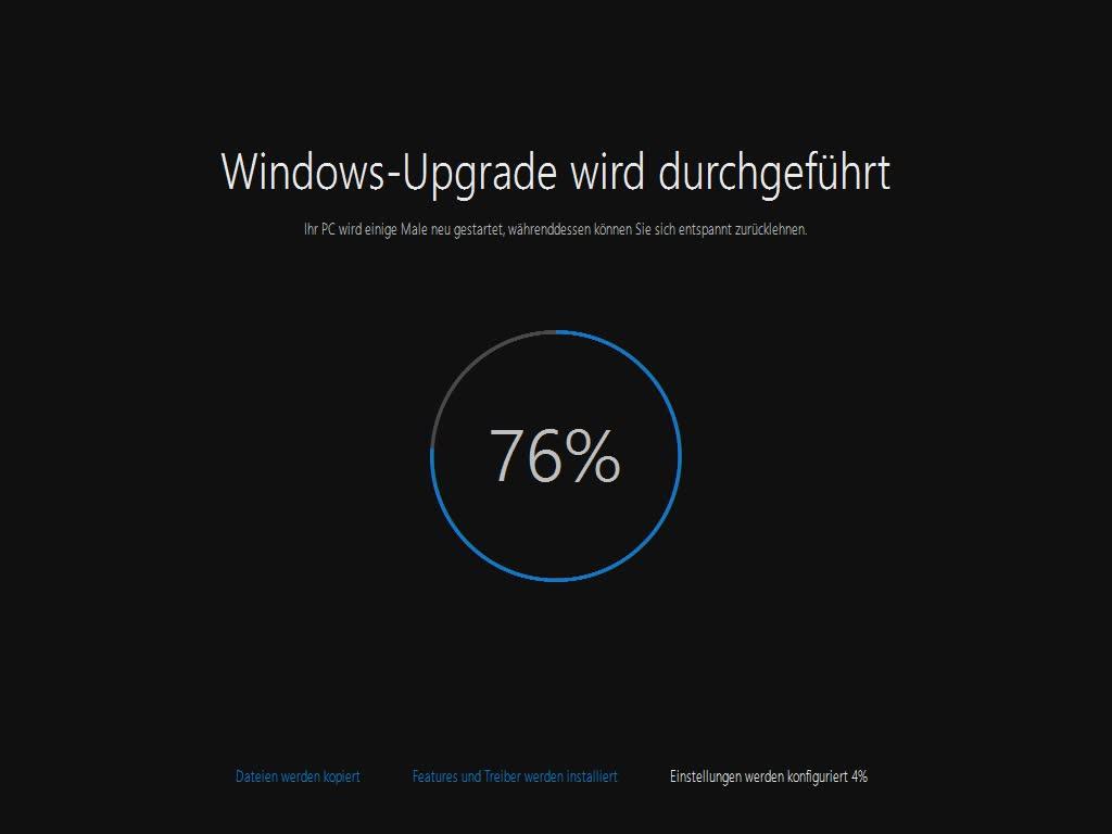 Windows 10-Upgrade