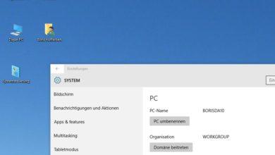 Bild von Fehlende Desktop-Symbole unter Windows wieder einblenden