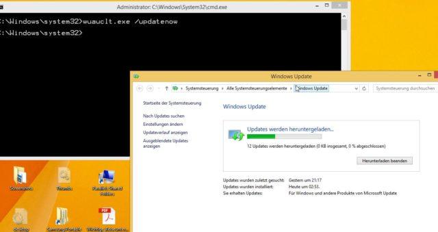 Windows 10 Download erzwingen