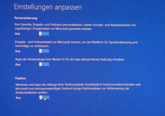 Windows 10 will erstaunlich viel über Euch wissen und es anderen verraten - zum Glück könnt Ihr das aber auch abschalten