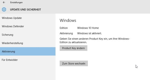 Warum nicht gleich so, Windows 10 ;) ?
