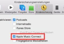 Bild von Apple Music Connect auf dem Mac, PC, iPhone, iPad und iPod touch deaktivieren