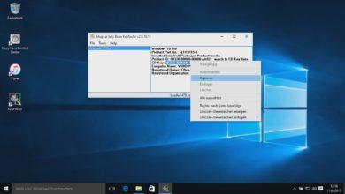 Bild von Anleitung: Windows 10-Lizenznummer auslesen
