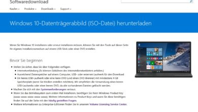 Bild von Windows-10-ISO-Download ohne Media Creation Tool