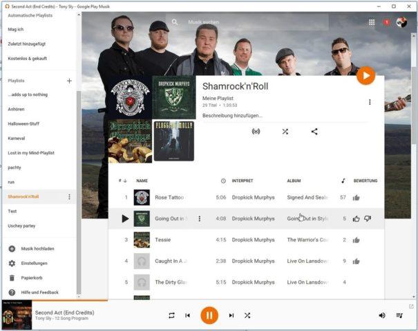 Ein Königreich für einen browserbasierten Player - Google Play Music macht vor, wie es geht!