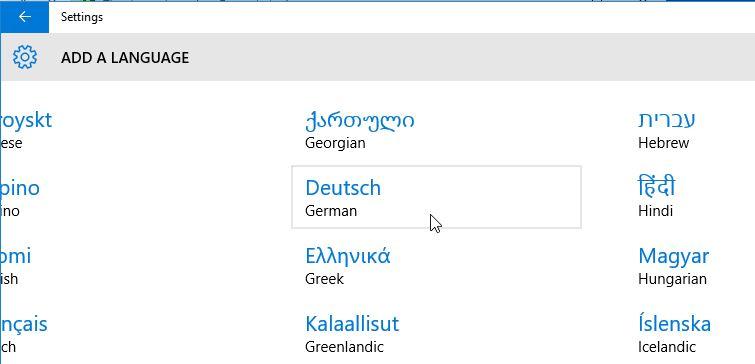 Anleitung: Windows 10 auf Deutsch oder eine andere Sprache