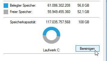 Datenträger-Eigenschaften