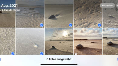 Mit einem Wisch könnt ihr auf einen Schlag viele Bilder vom iPhone löschen.