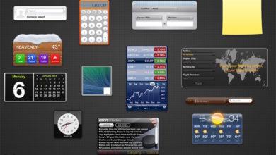 Bild von Dashboard in MacOS wieder aktivieren
