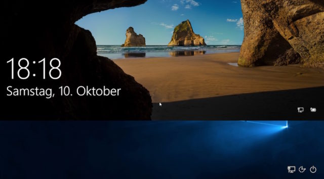 Windows 10 Lockscreen