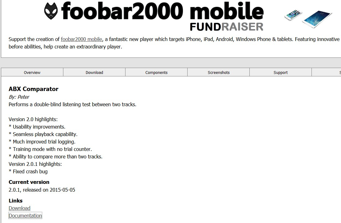 Anleitung Die Subjektiv Strkste Mp3 Komprimierungsrate Ohne Abx Double Blind Audio Tester Foobar2000